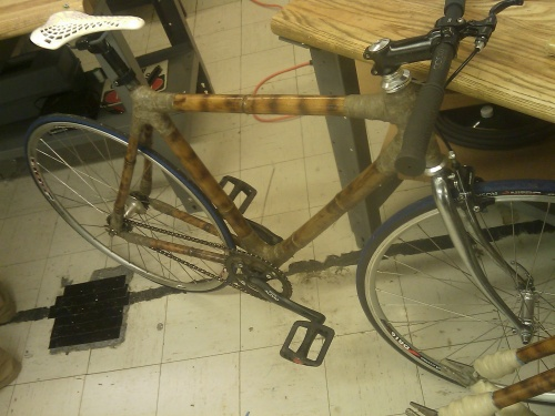 Photo from the Bamboo Bike Projects Blog